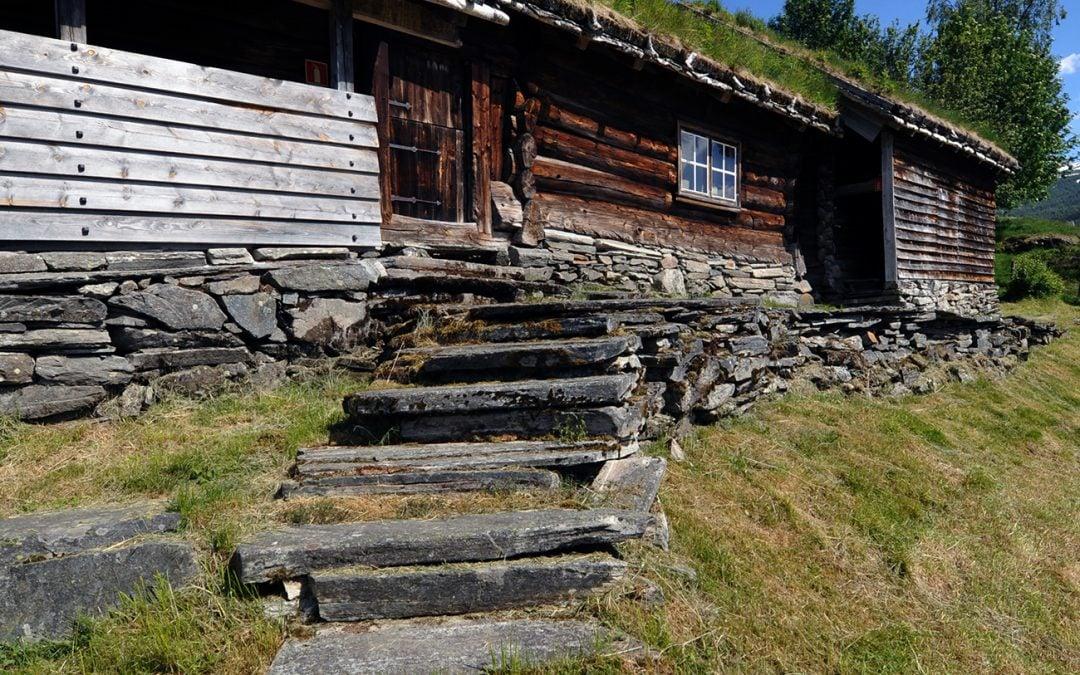 Byggeskikken i vossabygdene ved Nils Georg Brekke