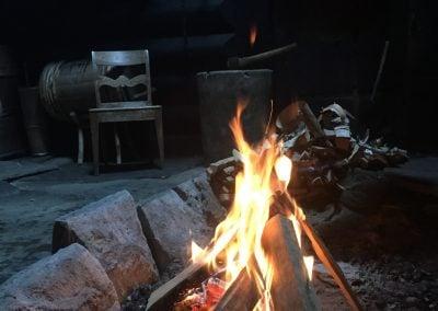 Ild i Årestova, Mølstertunet, Voss folkemuseum
