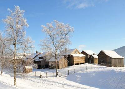 Vinter på Mølster